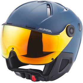 Alpina Attelas Visor QVM Helmet nightblue matt